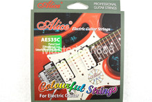 Alice AE535C Colourful Electric Guitar Strings Plated&Colourful Coated Copper Alloy Wound 1st-6th Strings Free Shippng
