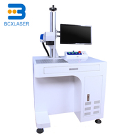 100w laser marking machine for electronic components with Ezcard Control Software Raycus
