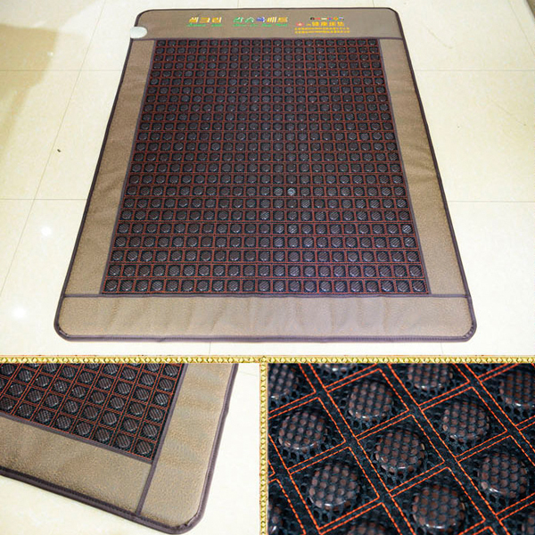 2016 Newly! Good Jade Cushion Health Care Mat Tourmaline Physical Therapy Mat AC220V Size1.9x1.2M Free Shipping best selling korea natural jade heated cushion tourmaline health care germanium electric heating cushion physical therapy mat