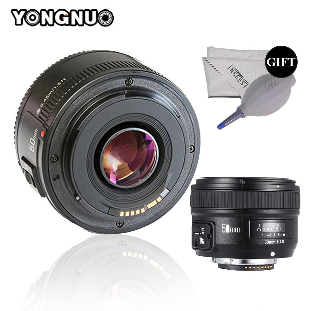 YONGNUO YN50mm Lens F1.8 Large Aperture Auto Focus Lens For Nikon D3400 D7200 D3200 D3300 D5100 D5200 D5300 DSLR Camera Lens
