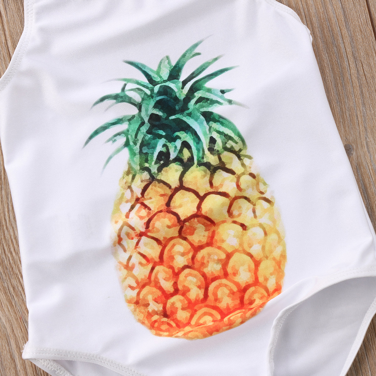 Sweet Baby Girls Strawberry Pineapple Strap Bodysuit Swimsuit Kid Bikini Bathing Holiday Beachwear Summer Costume