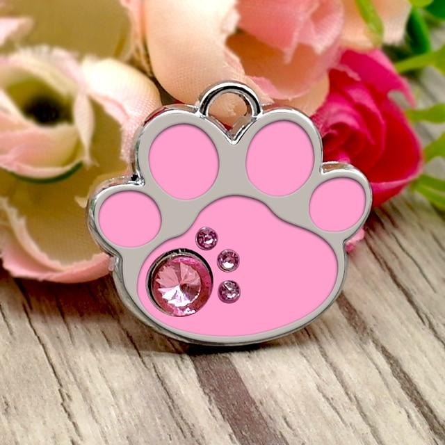 Personalized Cat ID Glitter Tag  My Pet World Store