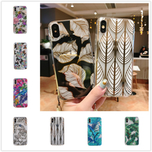 Phone Case For iPhone XS XR Max 8 7 6s Soft Silicone Clear Hoesje High Quality Back Cover 6 Plus Fundas