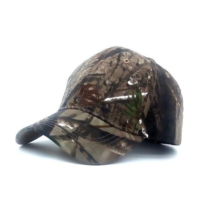 510d9a9cc0906 2018 New Fashion Mens Army Camo Cap Baseball Casquette Camouflage Hats For Men  Women cadet Hunting fishing Blank Desert cap