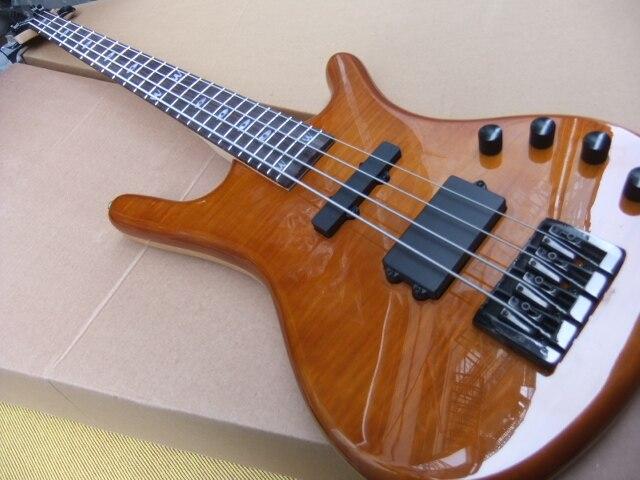 En gros Nouvelle 4 cordes Basse Électrique Guitare En Naturel 100922