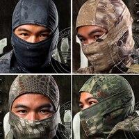 מסכת הנינג 'ה גרב פנים הסוואה צבאיות טקטי ציד איירסופט פיינטבול Gear