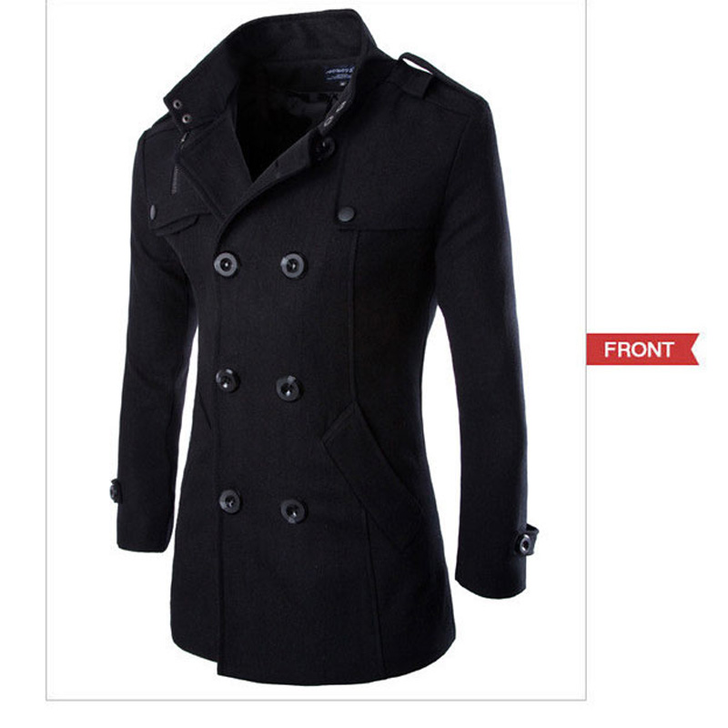 Online Get Cheap Stylish Pea Coats for Men -Aliexpress.com