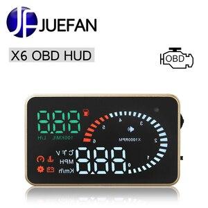 JUEFAN car hud display X6 head