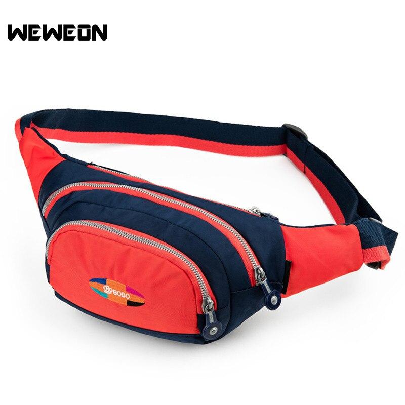 Color Matching Waist <font><b>Bags</b></font> Running Fanny Pack Women Waist Pack Pouch Belt Men Purse <font><b>Mobile</b></font> <font><b>Phone</b></font> Pocket Camping Hiking Sports <font><b>Bag</b></font>