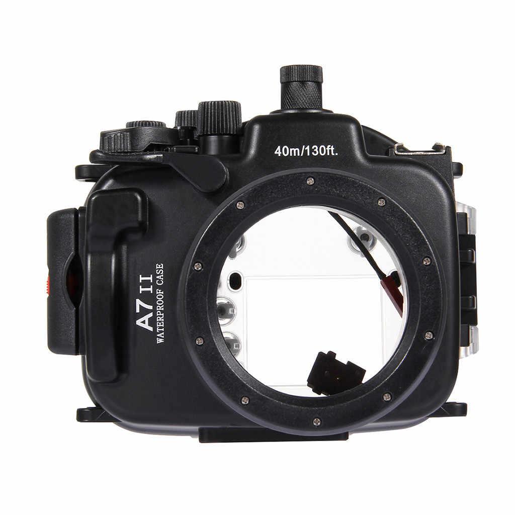Funda impermeable para cámara Sony A7II A7RII A7SII compra envío gratis superventas bajo el agua 40m