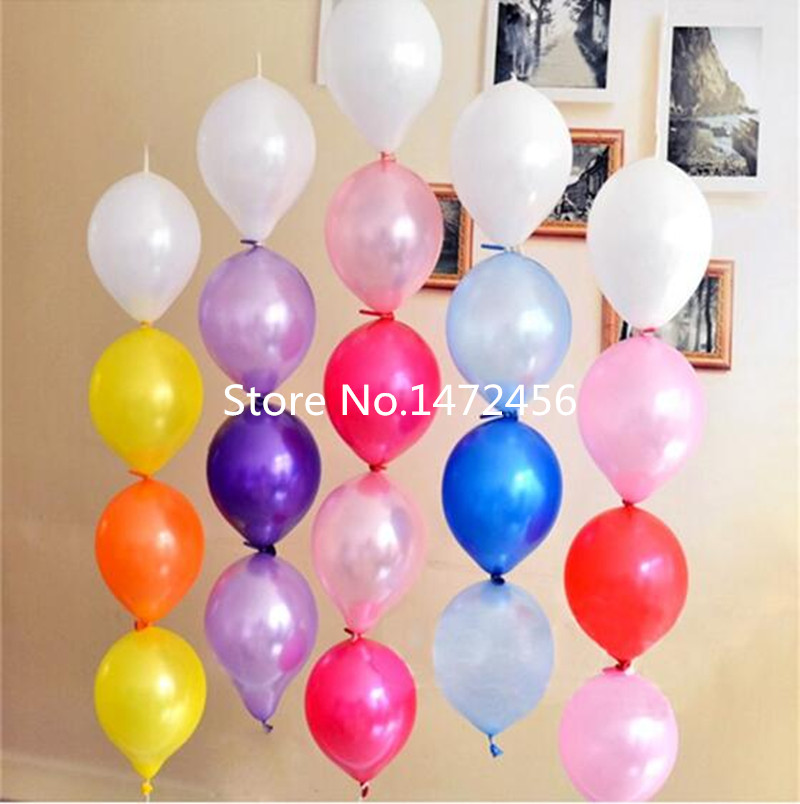 6inch Pin tails balloons100pcs/lot thick balloons birthday