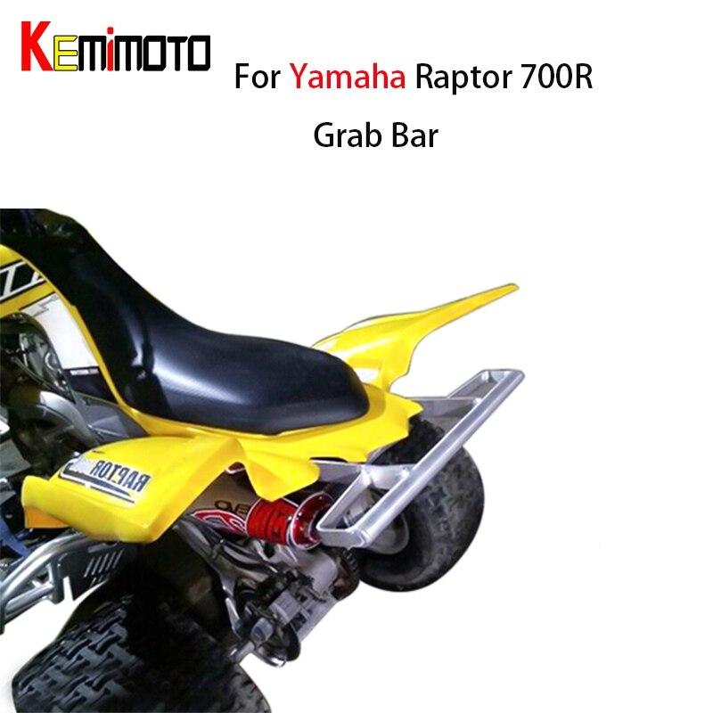 For YAMAHA RAPTOR 700R 700 R 700R SE ALL YEARS ATV Wide Grab Bar Rear Handle Brab Good Shelf Storage Rack Rear Pasanger Grab Bar детский квадроцикл joy automatic yamaha raptor bj268 красно черный