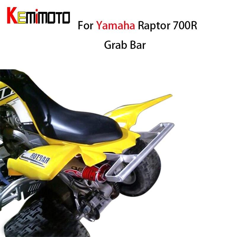 Pour YAMAHA RAPTOR 700R 700 R 700R SE toutes les années ATV large barre d'appui poignée arrière Brab bonne étagère Rack de rangement arrière Pasanger barre d'appui