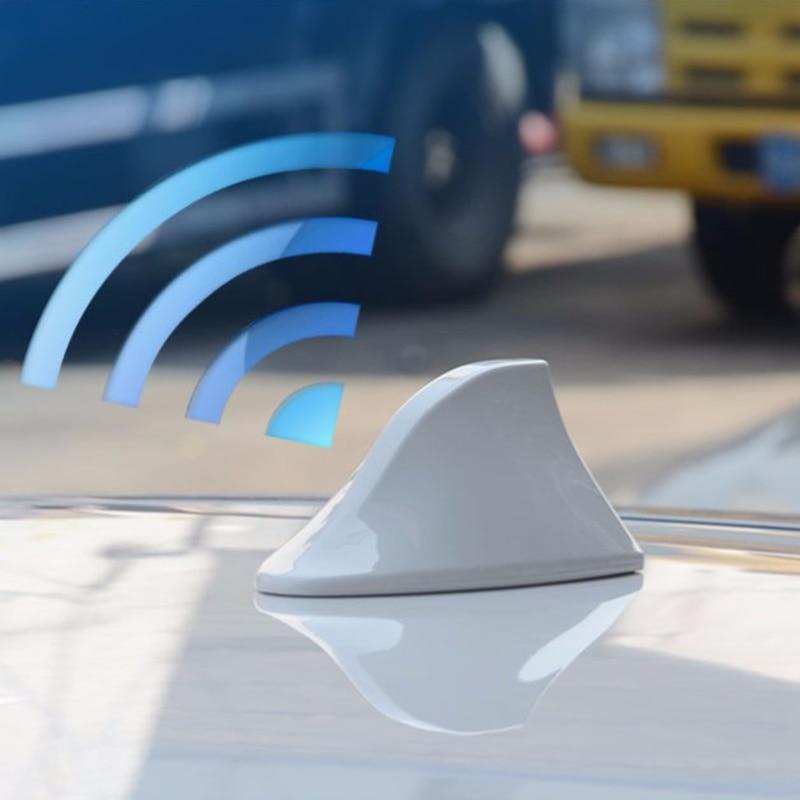 Car Shark Fin Antenna Auto Radio Signal Aerials For Chevrolet Cruze Trax Aveo Lova Sail Epica Captiva Volt Camaro Cobalt Exterior Accessories Automobiles & Motorcycles