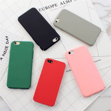 Candy Color Phone Cases for Iphone X 5s 5 SE 6 6S 7 8 Plus Hard Plastic Frosted Matte Covers for Iphone 11 Pro X XS MAX XR Shell
