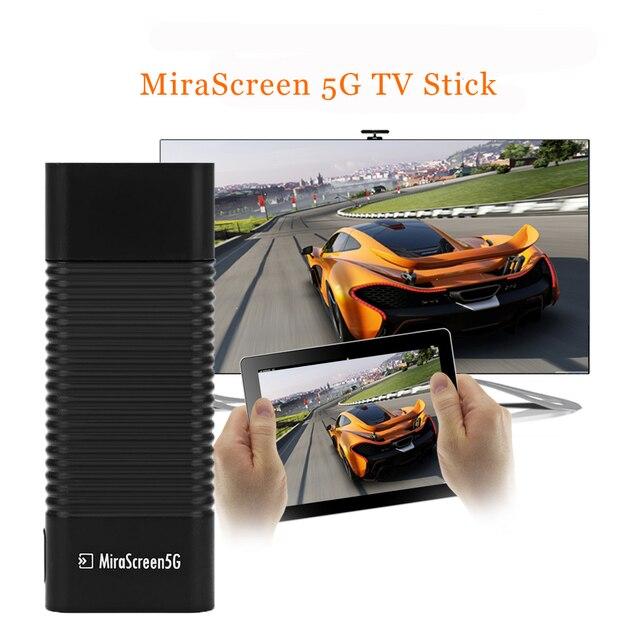 MiraScreen 5 גרם הטלוויזיה סטיק הטלוויזיה Dongle HDMI במהירות גבוהה מקלט תצוגה אלחוטית Miracast השמעות DLNA שידור 2017
