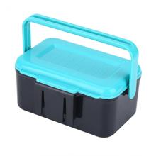Durable Portable Earthworm Fishing Box/Fish Lures Hook Worm Bait Storage Waist Holder Fishing Tackle Boxe Sea Fishing Accessory
