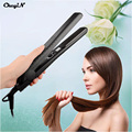 Professional Portable Fast Heat Floating Plates Hair Flat Iron Hair Straightening Irons 100% Solid Ceramic Electric Stylig Tools
