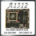 "Original For Apple iMac 27"" A1312 1GB HD6970 Graphic Card Video Card GPU 109-C29657-10 216-0811000"