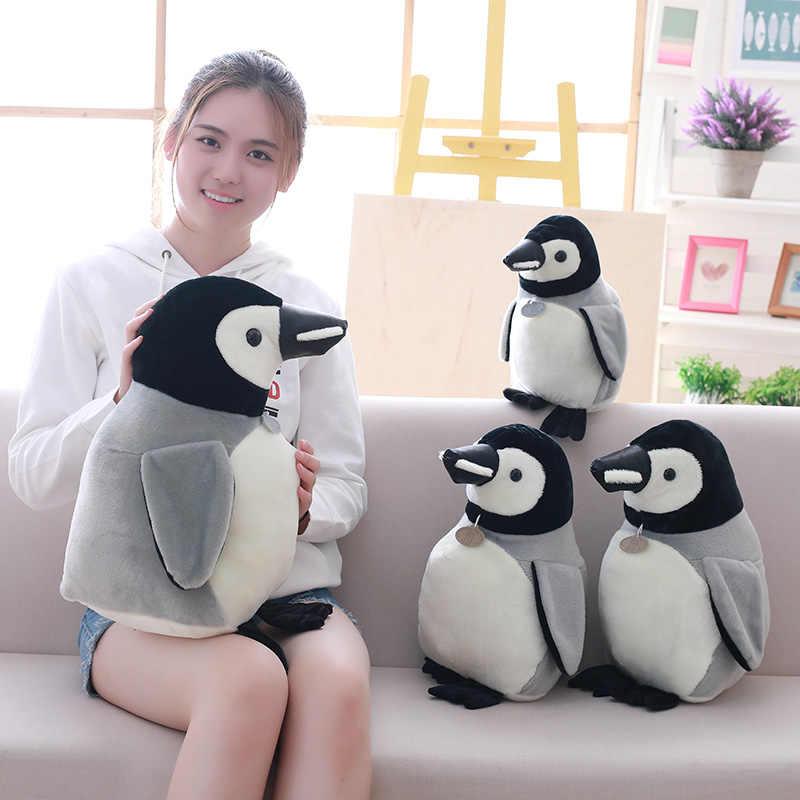 Cozfay Бесплатная Прямая поставка реалистичные плюшевый пингвин мягкую игрушку белый и черный мягкая игрушка-плюшевый пингвин малыш подарки Рождество деко