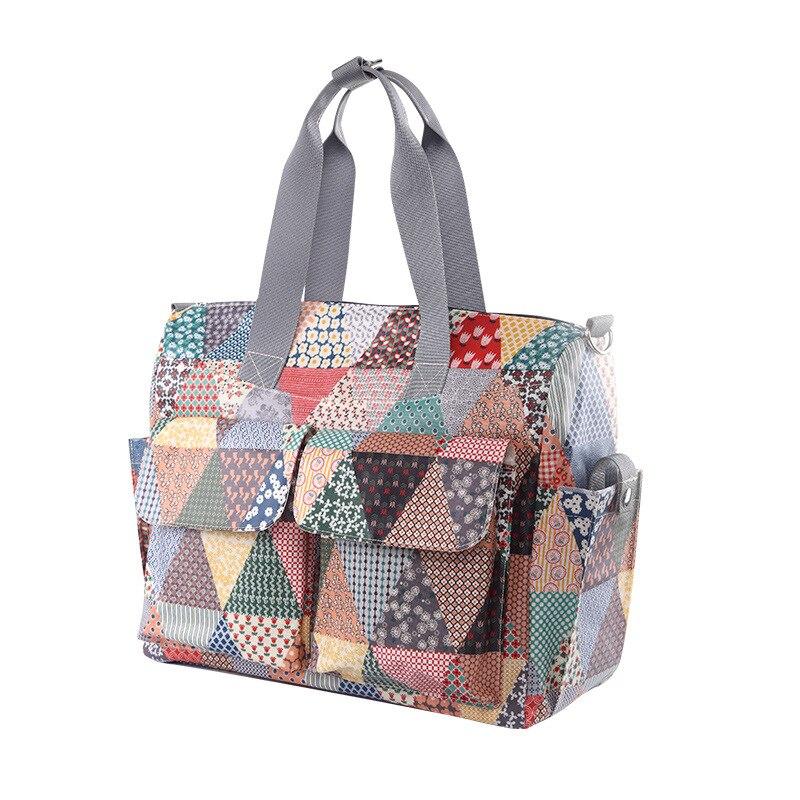 3PCS/set Print 2 Colors Baby Nappy Bags Suit Large Capacity Diaper Bag Mother Maternity  ...
