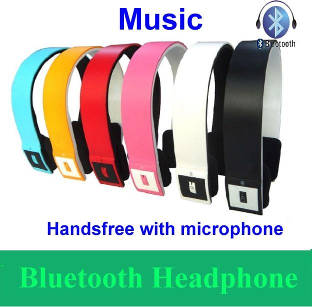 Universal Wireless Bluetooth Stereo Headset headphone earphone handsfree Microphone for Samsung HTC NOKIA Phone TABLET LAPTOP