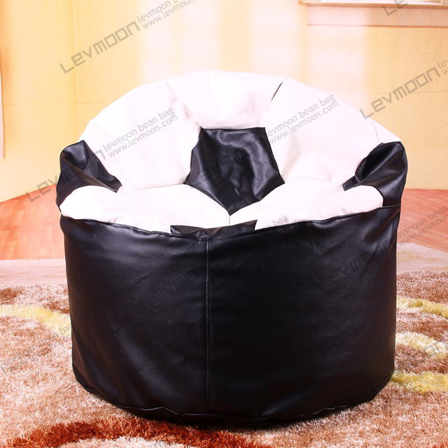 football bean bag chair cherner side free shipping chairs without filling giant 80 70 40cm beanbags pu leather
