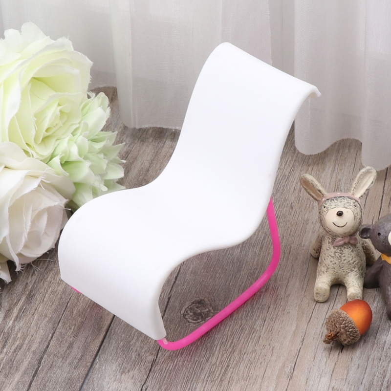 Rocking Beach Chair Furniture Lounge Doll Accessories Girl Toy Dollhouse Doll Accessories New