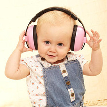 Adjustable Baby Ear Muffs Infant Hearing Protection Defenders Comfortable Noise Reduction Earmuffs for 3 Month - 4 Years old