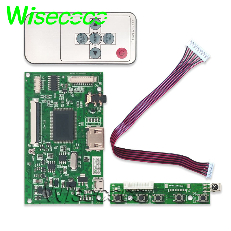 מערכות ניווט מועצת הבקר HDMI TTL LVDS או HDMI VGA 2AV 50 לוח PIN עבור 92 AT070TN90 94 AT065TN14 AT080TN52 AT090TN12 AT090TN10 (2)