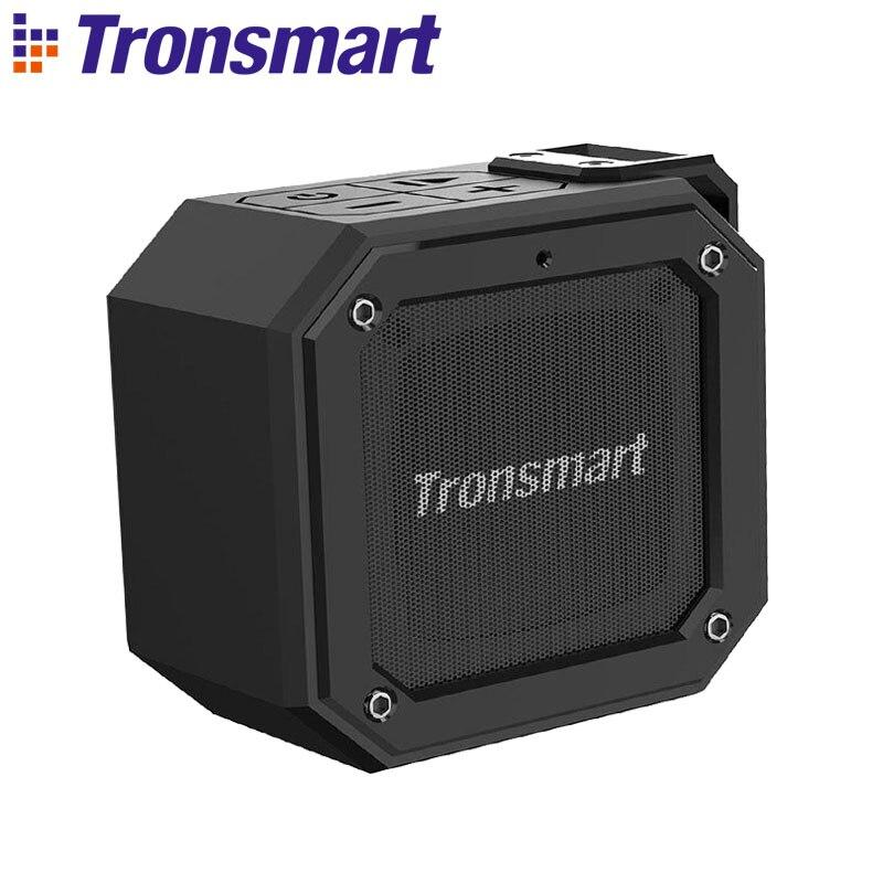 Tronsmart Elemento Sulco (Força Mini) IPX7 Bluetooth Speaker Portátil À Prova D' Água Superior Bass 24-Horas Playtime Apoio TWS