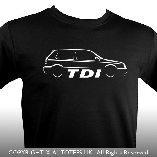 2018 Hot Sale 100% cotton Fashion GOLFS TDI MK 3 INSPIRED CLASSIC CAR T-SHIRT Tee shirt