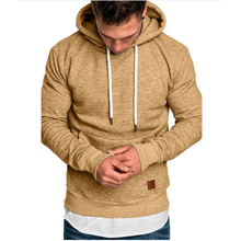 2019 high quality mens autumn and winter brand jerseys solid color printing thick hoodies men