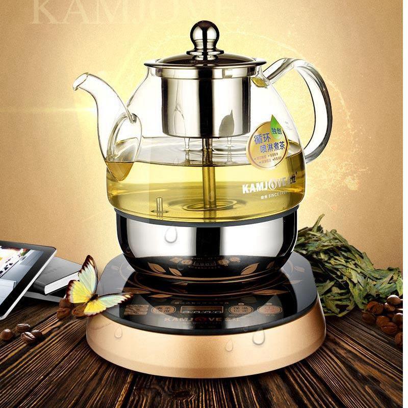 KAMJOVE A 99 czajnik elektryczny, gotowane herbata czajnik elektryczny maszyny automatyczne wrzącej herbaty szklany garnek w Dzbanki do herbaty od Dom i ogród na  Grupa 1