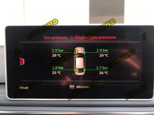 Image 3 - TMPS 2 TPMS ความดันยางระบบสำหรับ Audi A4 B9 A5 B9 Q5 Q7 4M A3 8V ใหม่ TT ใหม่ Q2 Q3 4M0 907 273 B