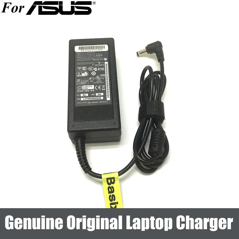 For ASUS X52F 19v 3.42A A52j x5dc k50c series Laptop Charger Adapter Power Cord