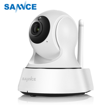 SANNCE 720P Home Security Mini IP Camera Wifi Wireless Network Camera Surveillance Wifi Night Vision CCTV Camera Baby Monitor
