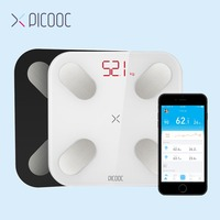 PICOOC Mi Bathroom weight Scales Floor Digital Body Fat Scales Bluetooth Electronic Outdoor mini Smart Weighing Scales with APP