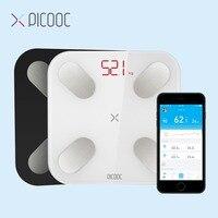 PICOOC mi báscula de peso para el baño báscula Digital para el cuerpo báscula electrónica Bluetooth para exteriores mi ni báscula inteligente con aplicación