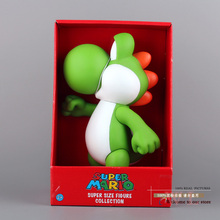 Free Shipping Super Mario Yoshi PVC Action Figure Collection Model Toy Doll 23cm New in Box SMFG075