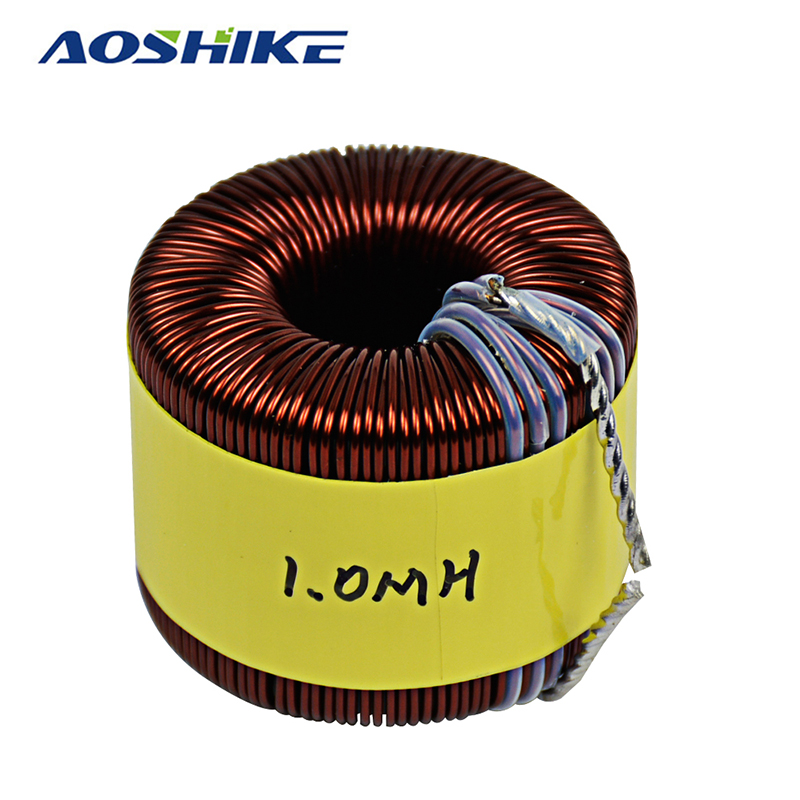 Aoshike 5KW Sendust Magnetic Ring Sine Wave Inductance Inverter Filter Inductor PFC Induction Coil