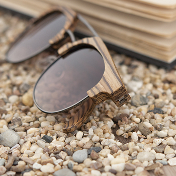 BOBO BIRD Men Sunglasses Polarized Wood Sun Glasses Women Polarized Retro UV400 Vintage Glasses in Wooden Gift Box W-DG15b 2