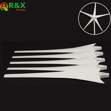 600mm/650mm Wind Blade for 400W Accessories Power Energy Turbine White Color Nylon Fber