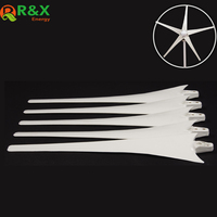 600mm/650mm Wind Blade for 400W Accessories Power Energy Wind Turbine White Color Nylon Fber Blade