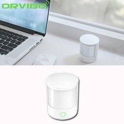 ORVIBO alarmu bezprzewodowy inteligentny czujnik ruchu PIR widmo w podczerwieni system zdalnego sterowania bezpieczeństwa w domu czujnik ruchu dla IOS/Android w Inteligentny pilot zdalnego sterowania od Elektronika użytkowa na