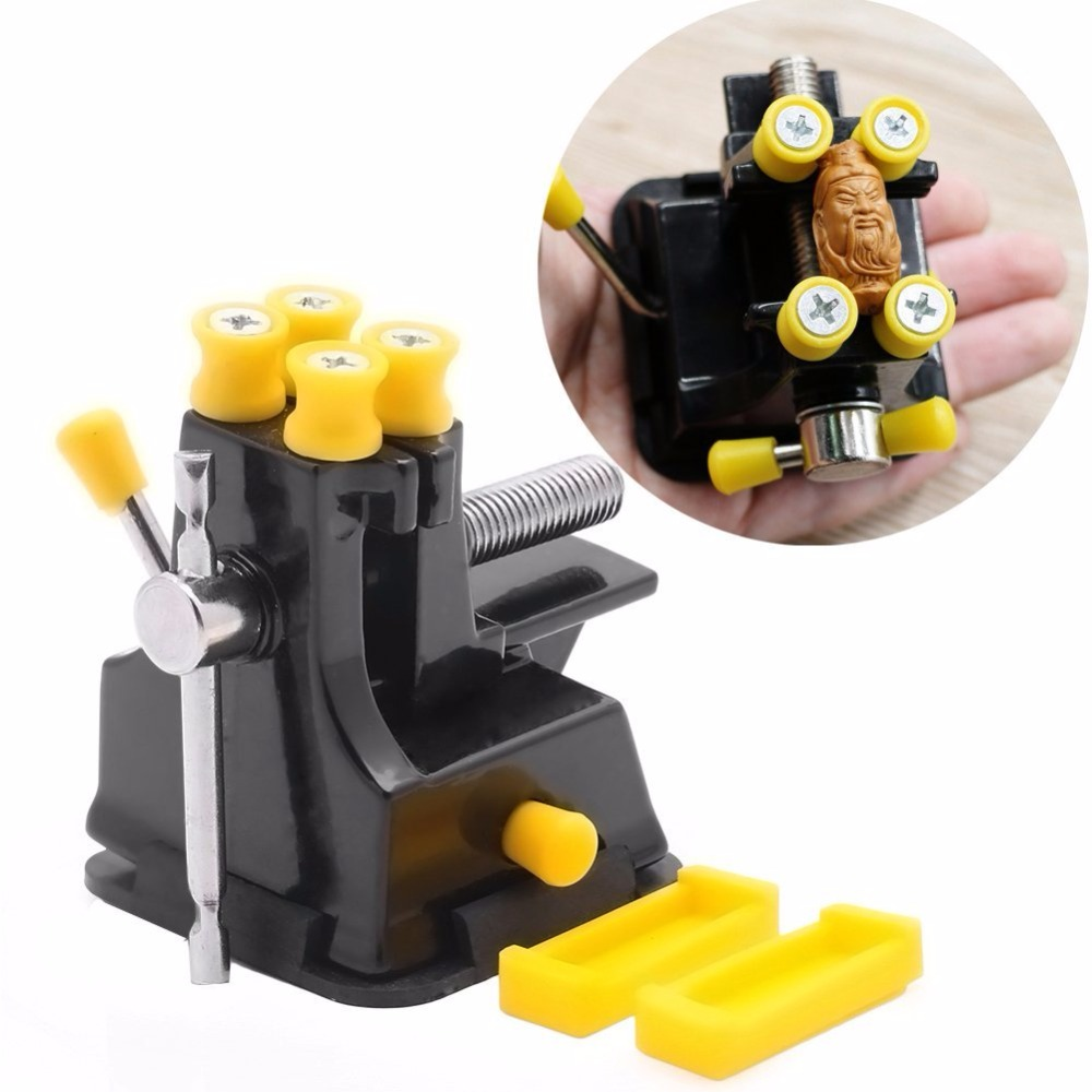 DIY Mini Jewelry Craft Mould Fixed Repair Woodworking Hand Tool Vice Suction Grip Vise