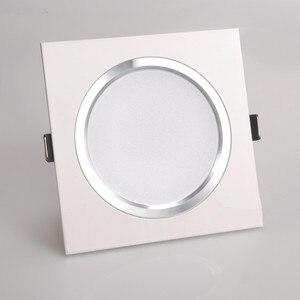 Image 5 - 2.5 pollici Da Incasso A LED 6 w 9 w 12 w 220 v Natura Bianco Quadrato Da Incasso HA CONDOTTO LA Lampada della Luce del Punto per Soggiorno Foyer Camera Da Letto Cucina