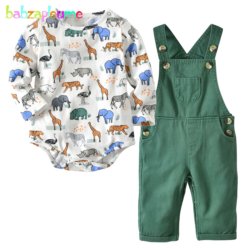 2piece 2019 Spring Fall Newborn Outfit Baby Boys Clothes Long Sleeve Cartoon Cotton Bodysuit+Pants Infant Clothing Sets BC1827-12piece 2019 Spring Fall Newborn Outfit Baby Boys Clothes Long Sleeve Cartoon Cotton Bodysuit+Pants Infant Clothing Sets BC1827-1