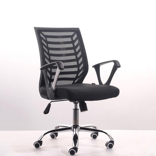 Silla de oficina Simple moderna silla giratoria de elevación para el ...