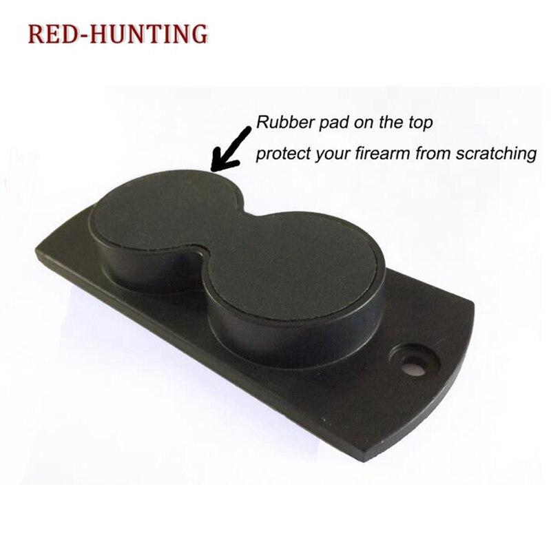 Magnetic Holster Gun Holder For Under Desk Car Magnet Mount Concealed Pistol USA